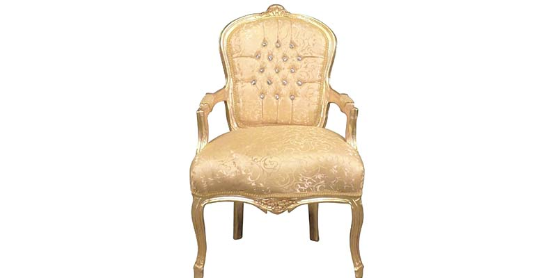 Butaca estilo Louis XV